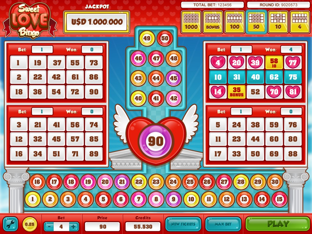 Sweet Love Bingo